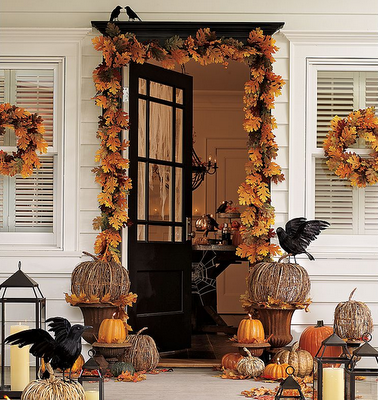Home Decorating on Pottery Barn Halloween Home Decor